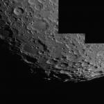 Pôle sud (mosaïque de 3 images), le 24/10/2012 20:20 TU (Bois-Colombes)