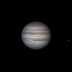 Jupiter le 25/10/2012 à 03:50 TU (Bois-Colombes)