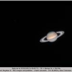 Saturne le 27/03/2012 à 00:42 TU (Bois-Colombes)