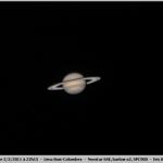 Saturne le 05/05/2011 (Bois-Colombes) ... tempête bien visible