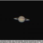 Saturne le 14/12/2011 (Bois-Colombes)