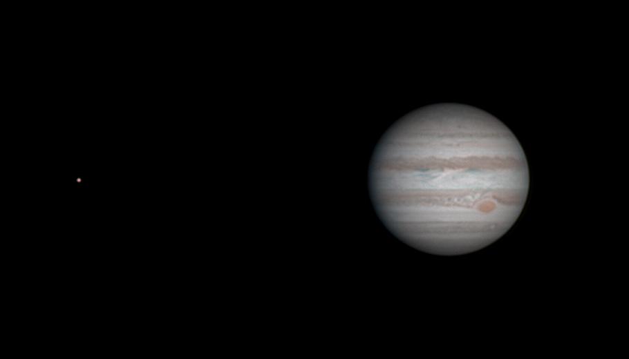Jupiter le 23/04/2015 à 19:33 TU - 130% (Bois-Colombes)