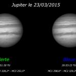 Jupiter le 23/03/2015, 20:51 TU