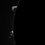 Protubérances solaires du 6/4/2015 à 12:09 TU
